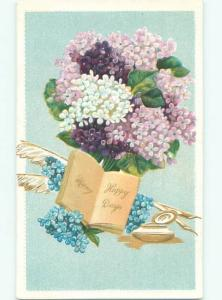 Divided-Back BEAUTIFUL FLOWERS SCENE Great Postcard AA3671
