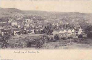 Pennsylvania Clearfield General View 1905 Rotograph