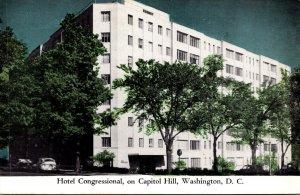 Washington D C Hotel Congressional On Capitol Hill 1956