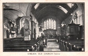 Old Church,Chelsea,England,UK