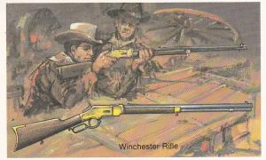 Cigarette Cards Wills – Embassy World of Firearms No 22 Winchester Rifle