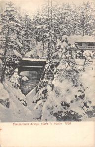 India Combermere Bridge, Simla in Winter