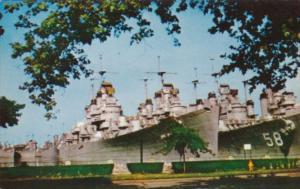Atlantic Reserve Fleet U S Naval Base Philadelphia Pennsylvania