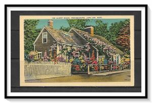 Massachusetts, Cape Cod - The Oldest House - Provincetown