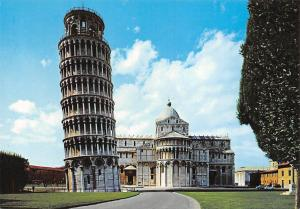 Italy Pisa Piazza dei Miracoli Apse Tower Abside e Torre