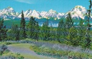 Teton Range Jackson Hole Wyoming