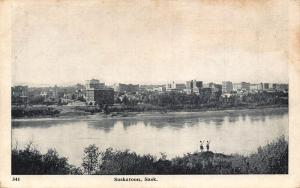 Canada Saskatoon Sask Lake General view Postcard