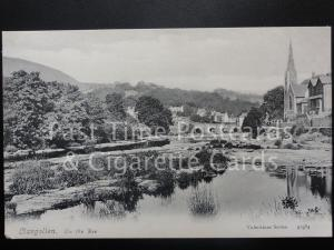 Llangollen: On The Dee c1904 - Pub by Valentines No.43984