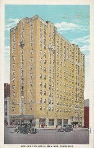 MEMPHIS, Tennessee, 1930-1940s; William Len Hotel