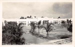 F1/ Chula Vista California Postcard Real Photo RPPC c30s Grammar School