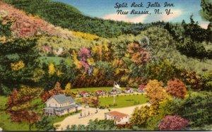 New York New Russia Split Rock Falls Inn 1954