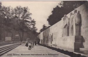 Switzerland Geneve Monument International de la Reformation