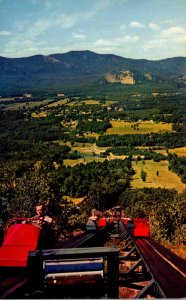 New Hampshire White Mountains North Conway Moat Mountain Seen From Upper Unit...