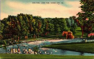 Missouri Kansas City Loose Park Duck Pond