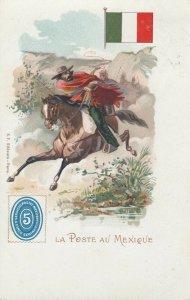La Poste au MEXIQUE , 1902