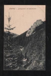 069681 GERMANY Oberhof Silbergraben mit Rauberstein