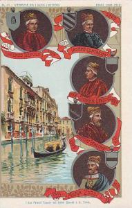 Kings,Venezia Ed I Suoi Izo Dogi,I Due Palazzi Tiepolo Sul Canal Grande A S. ...