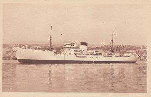 Cie De Navigation Cyprien - Fabre , Navire Bananier DJOLIBA , 20-30s