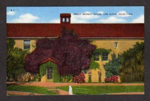 CA Jesuit Retreat House LOS ALTOS CALIFORNIA Postcard