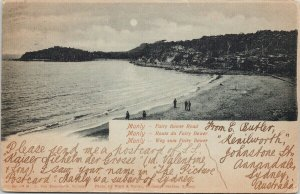 Fairy Bower Road Manly Australia AU Koenneritz Postcard E64