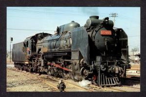 Taiwan Railroad Steam Locomotive 685 Taichung Taiwan Postcard RR Carte Postale