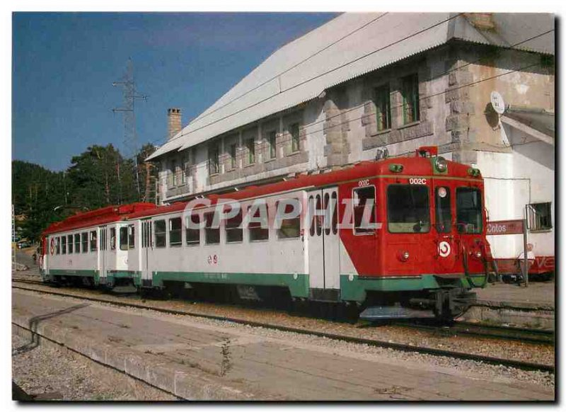 Postcard Modern Renfe Cercanias Pendelzug 8,442,002 2 9,442,002 2 und Strecke...