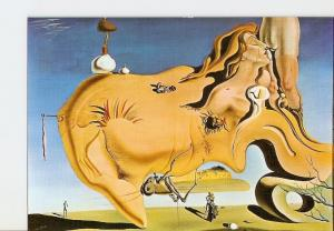 Postal 021175 : El Gran Masturbador, Salvador Dali