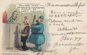 AS: OPPER , Happy Hooligan in Court , 1906