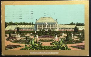 Postcard Used 4/2/09 Shaw's Garden Palm House St Louis MO LB