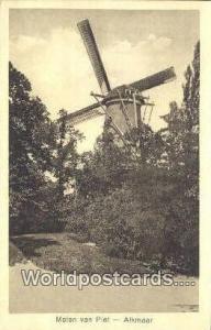 Alkmaar Netherlands, Nederland Molen van Piet  Molen van Piet