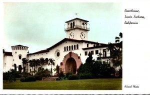 California Santa Barbara Court House Real Photo