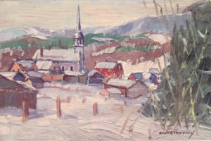 BAS - QUEBEC  : Grandes Bergeronnes (Saguenay) , Canada , 30-50s ; Artist And...