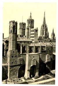 Spain - Barcelona. Art Museum   *RPPC