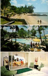 Barbados, West Indies -View of the Miramar Beach Hotel - St. James Beach -1967