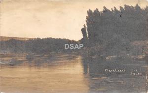 C70/ Twin Falls Idaho Id Real Photo RPPC Postcard 1914 Clear Lakes Bisbee