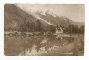 RP, CHAMONIX, Lac du Casino, Aerial View, Lake France, 1920-1940