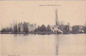 Scene, Chateau De Challain (Maine et Loire), France, 1900-1910s