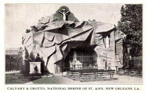 Louisiana New Orleans Calvary & Grotto National SHrine of St.Ann