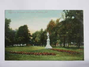 Armstrong Monument, West Park Allegheny PENNSYLVANIA Antique Postcard