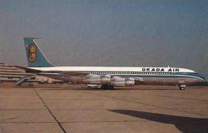 OKADA AIR NIGERIA BOEING B 707-355C