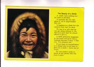 Little Children of the North, Inuit Smile Poem, Miguel Painting
