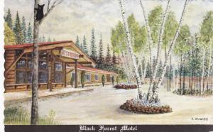 Black Forest Motel , BATCHAWANA BAY , Ontario , Canada , 40-60s