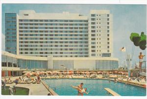 Deauville Hotel , Swimming Pool , MIAMI BEACH , Florida , 50-60s