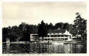 Scott's Casino Oquaga Lake NY 1953