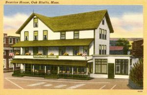 MA - Martha's Vineyard Island. Oak Bluffs. Beatrice House