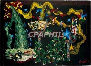 Postcard Modern Tapestry Cascade