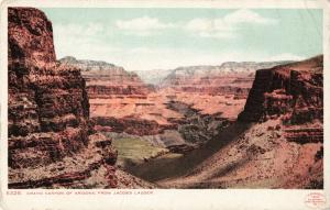 Postcard Grand Canyon of Arizona from Jacob's Ladder