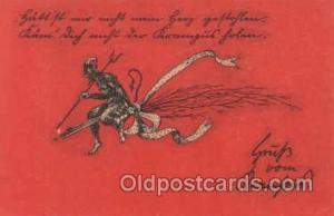 Krampus, Devil Postcard Postcards