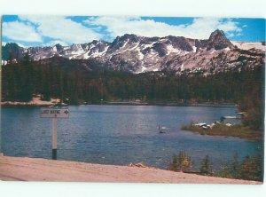 Pre-1980 LAKE SCENE Mammoth Lakes California CA AE3475