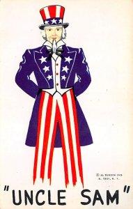 Uncle Sam North Troy, New York, USA Unused